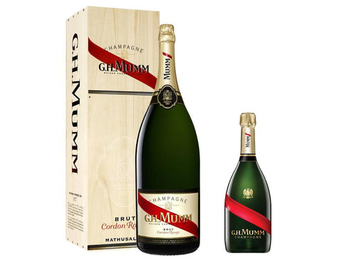 G.H. Mumm Cordon Rouge Methuselah 6L Set