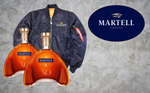2 x  Martell XO - 700ml - 40% + Martell Limited Jacket