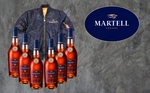 6 x  Martell VSOP - 700ml - 40% + Martell Limited Jacket
