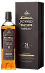 Bushmills Single Malt Irish Whiskey 21 Years Old - 700ml - 40%