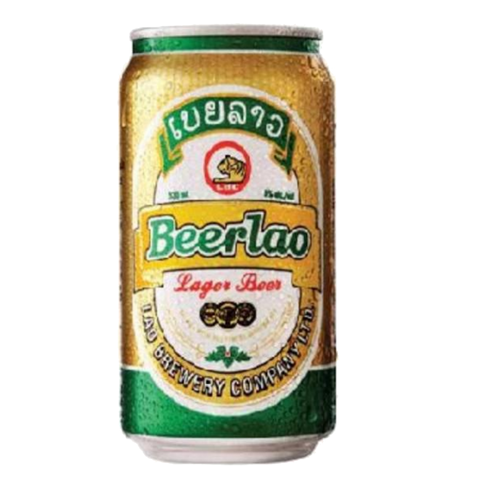 Beer Lao Lager (Can) - 330ml - 5%