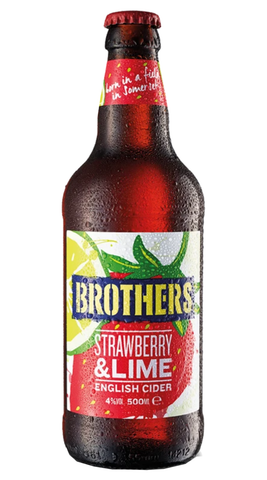 Brothers Strawberry & Lime - 500ml - 4%