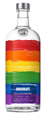Absolut Rainbow Edition - 1000ml - 40%