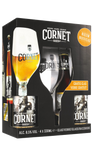 Cornet Gift Set - 4 x 330ml + 1 Glass - 8.5%
