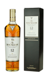 The Macallan Sherry Cask 12 Years Old - 700ml - 40% + 2x Macallan Tulip Glass