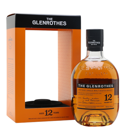 The Glenrothes 12 Years Old - 700ml - 43%