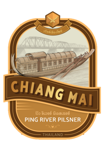 Chiang Mai Beer Ping River Pilsner - 330ml - 5%