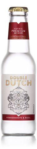 Double Dutch Pomegranate & Basil Soda 24x 200ml