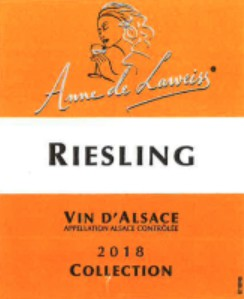 Anne de Laweiss Alsace Collection Riesling - 750ml - 12.5%