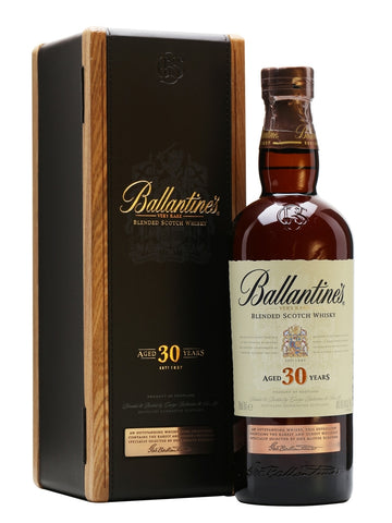 Ballantine's 30 Year Old - 700ml  43% + 2 x  Gift Voucher @ Patong Bay Hill Resort.