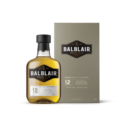 Balblair Single Malt Whisky 12 Year Old - 700ml - 46%
