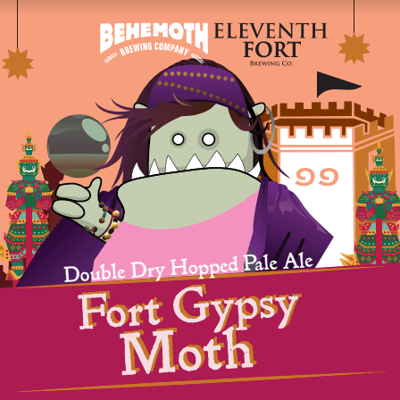 Behemoth Fort Gypsy Moth (Can) - 440ml - 6.0%