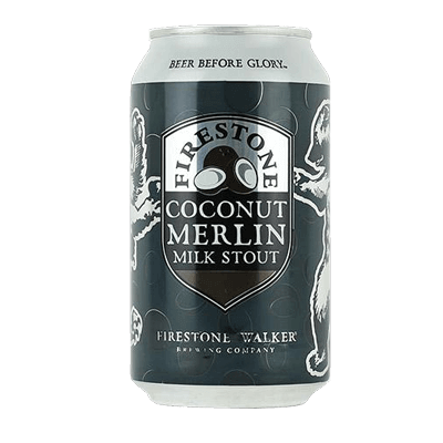 Firestone Walker Coconut Merlin Milk Stout (Can) - 355ml -5.5%