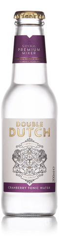 Double Dutch Cranberry & Ginger Tonic Water 24x 200ml