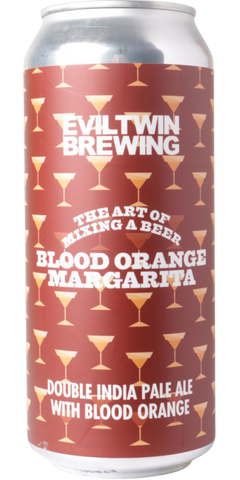 Evil Twin The Art Of Mixing A Beer: Blood Orange Margarita Double IPA (Can) - 473ml - 8%