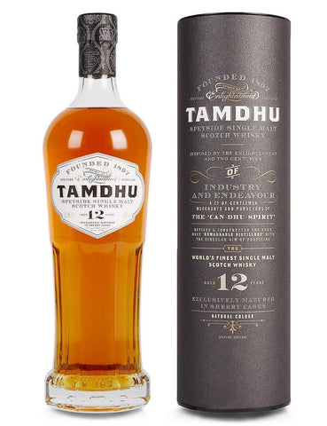 Tamdhu 12 Year Speyside Single Malt - 700ml - 40%