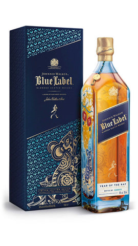 Johnnie Walker Blue Label Year Of The Rat - 750ml - 40%