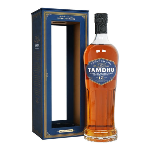 Tamdhu 15 Year Speyside Single Malt - 700ml - 40%
