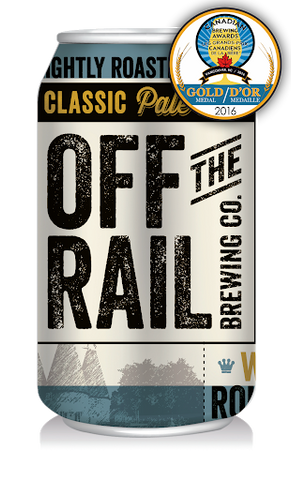 Off The Rail Classic Pale Ale (Can)- 355ml - 5.0%