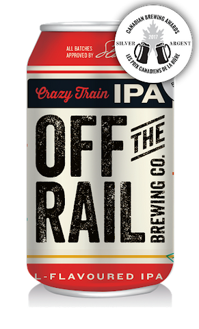 Off The Rail Crazy Train IPA (Can) - 355ml - 6.5%