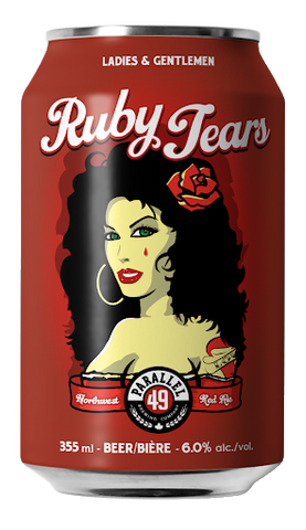 Parallel 49 Ruby Tear Northwest Red Ale - 355ml - 6%