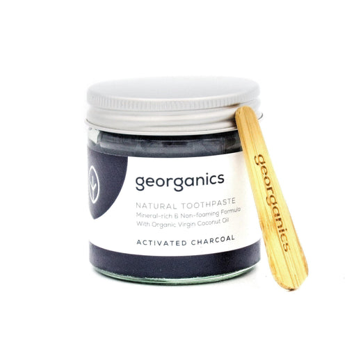 Natural Mineral-rich Toothpaste - Activated Charcoal Bathroom Accessories ecoLinks Ltd 60ml