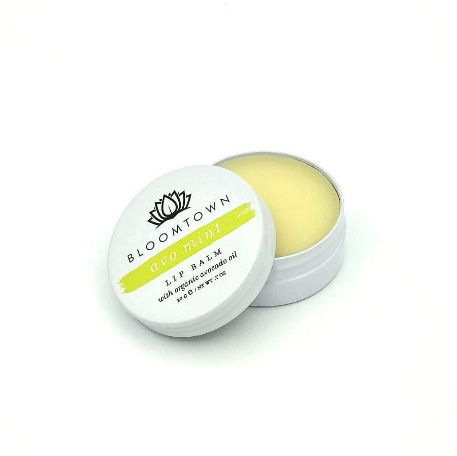 Natural & Vegan Lip Balm: Avo Mint Health & Beauty Bloomtown