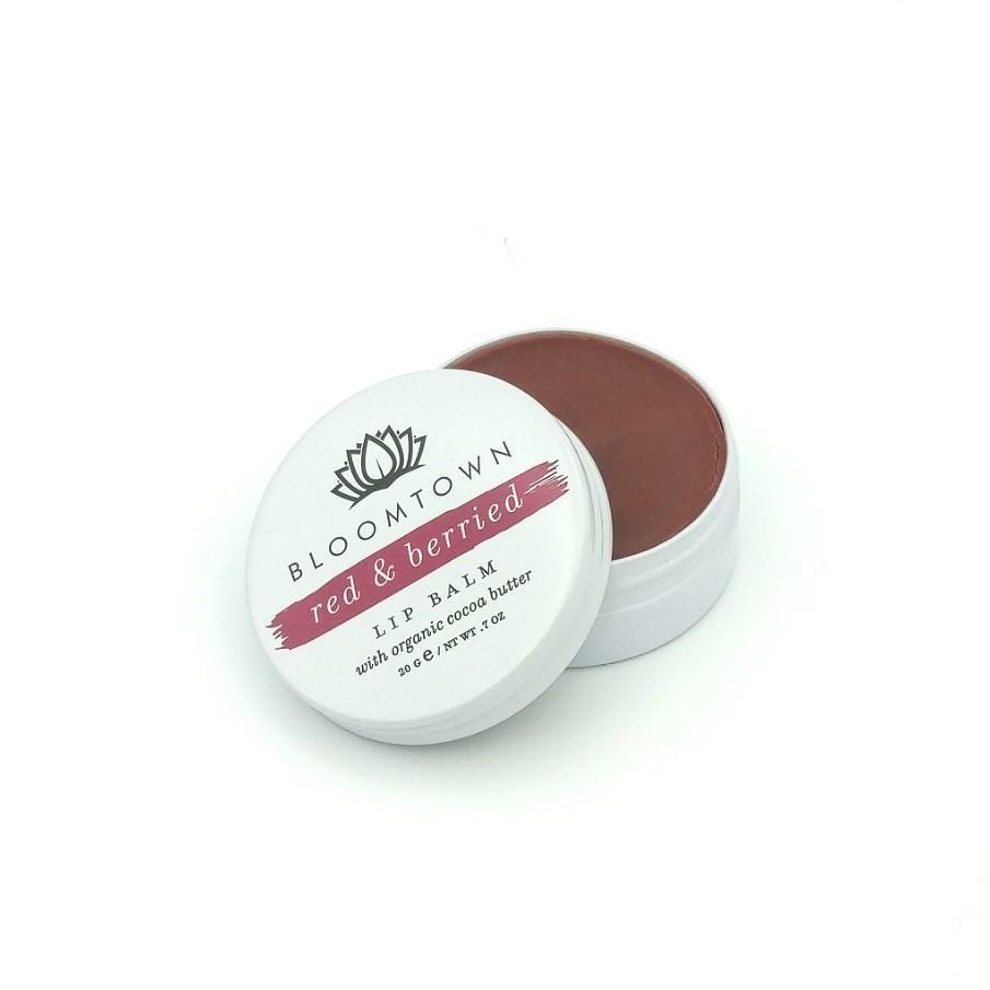 Natural & Vegan Lip Balm: Red & Berried Health & Beauty Bloomtown