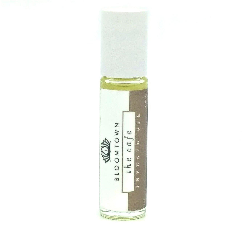 Roll-On Infused Oil Health & Beauty Bloomtown The Cafe (Hazelnut & Vanilla)