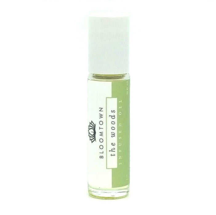 Roll-On Infused Oil Health & Beauty Bloomtown The Woods (Vetiver, Cedar & Bergamot)