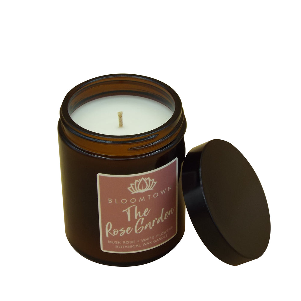 Scented Botanical Wax Candle Home Bloomtown