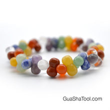 Load image into Gallery viewer, Beautiful Colorful Quartz Hand Massage Bracelet