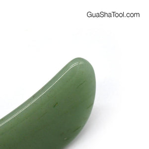 Jade Green Aventurine Little Bird Gua Sha Massage Scraper Tool