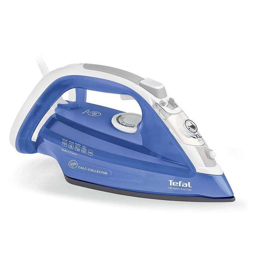 Tefal Ultragliss Anti Calc Steam Iron 2500 W, Blue,ELECTRONICS,HyperMarketsUAE.