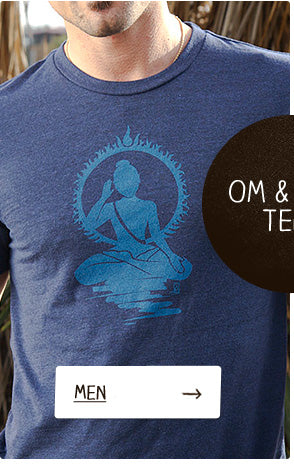 Mens OM & Yoga Tees