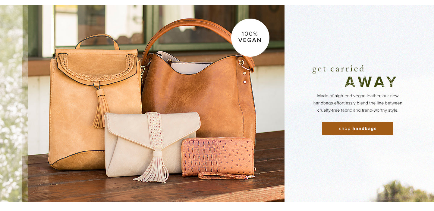 shop Vegan Handbags
