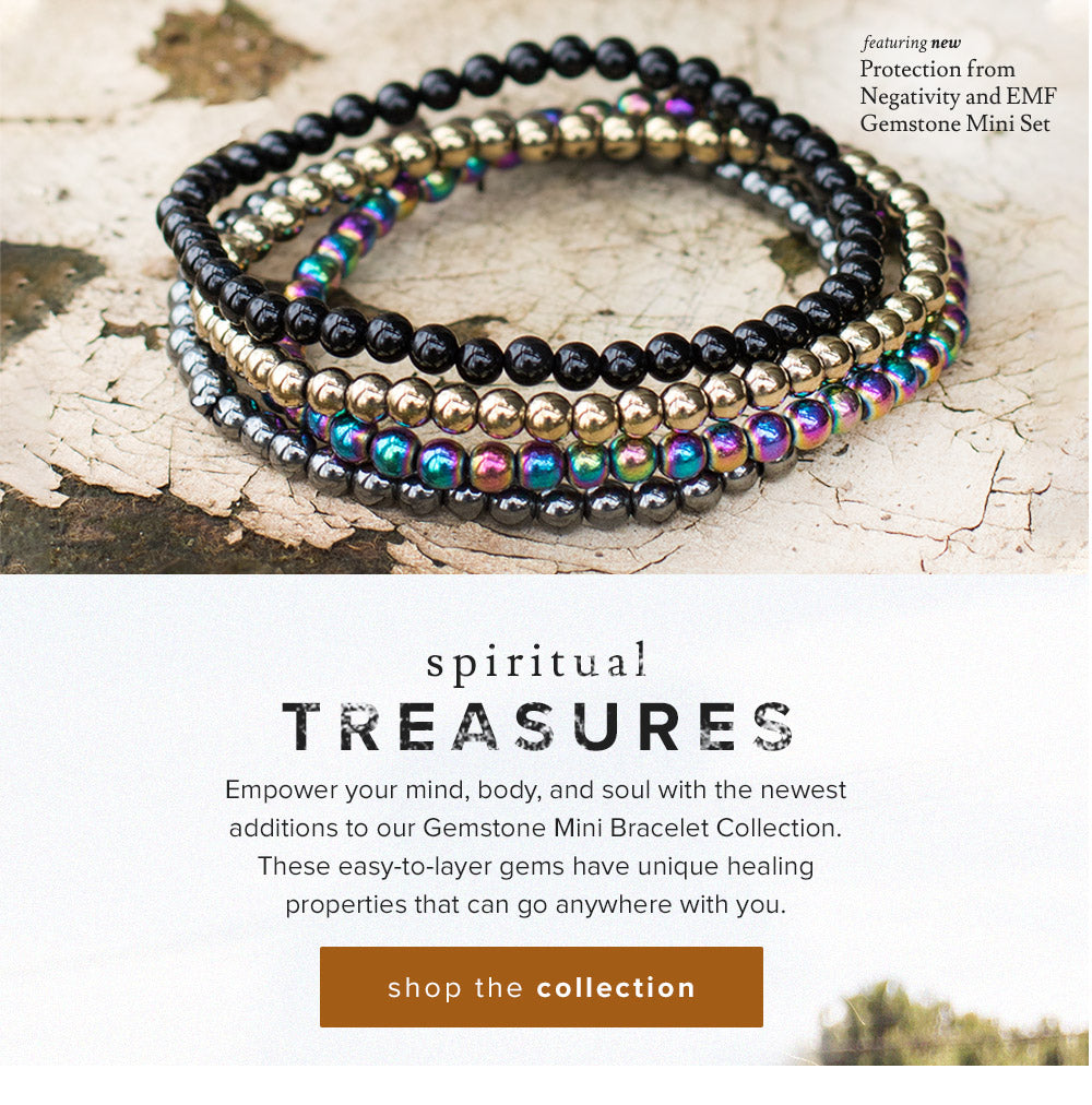 shop Mini Gemstone Energy Bracelets
