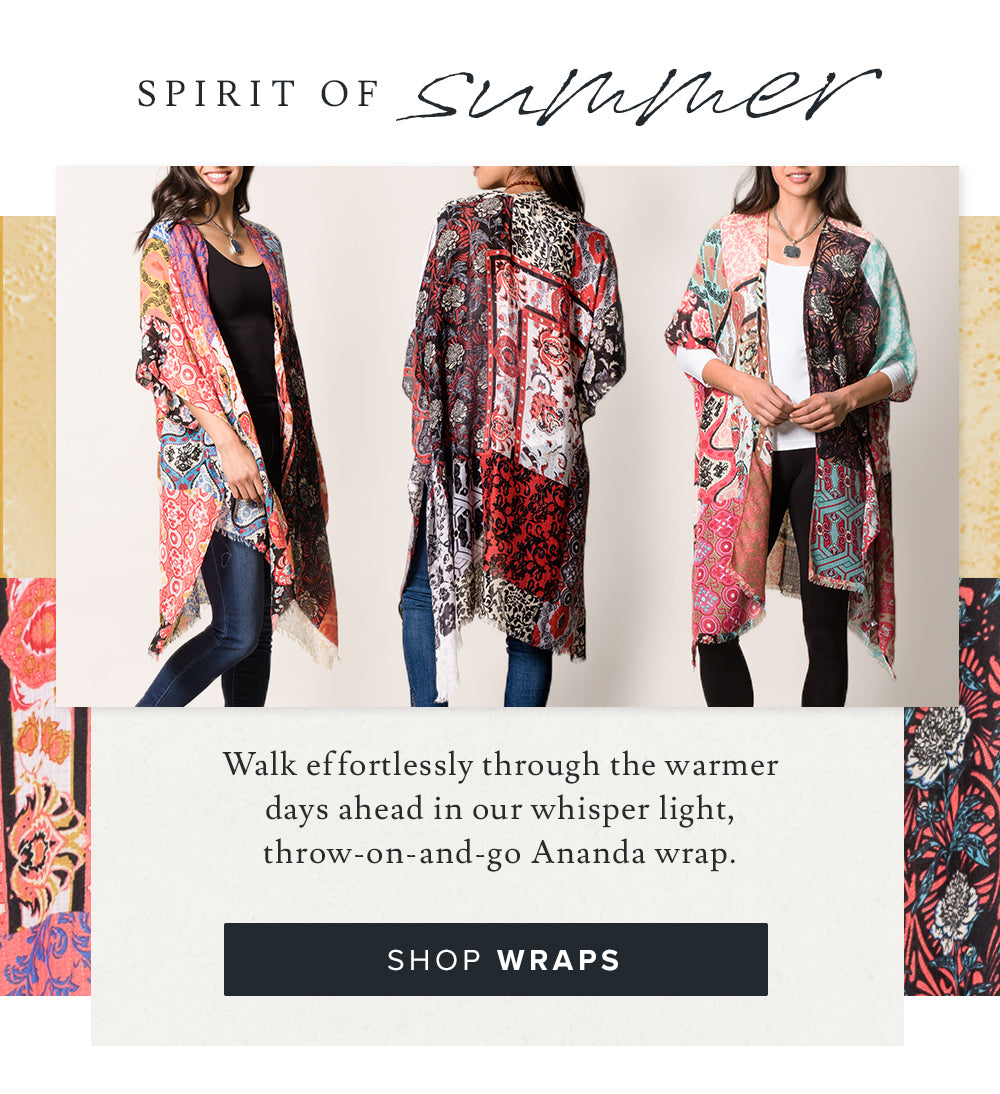 Shop Summer Wraps
