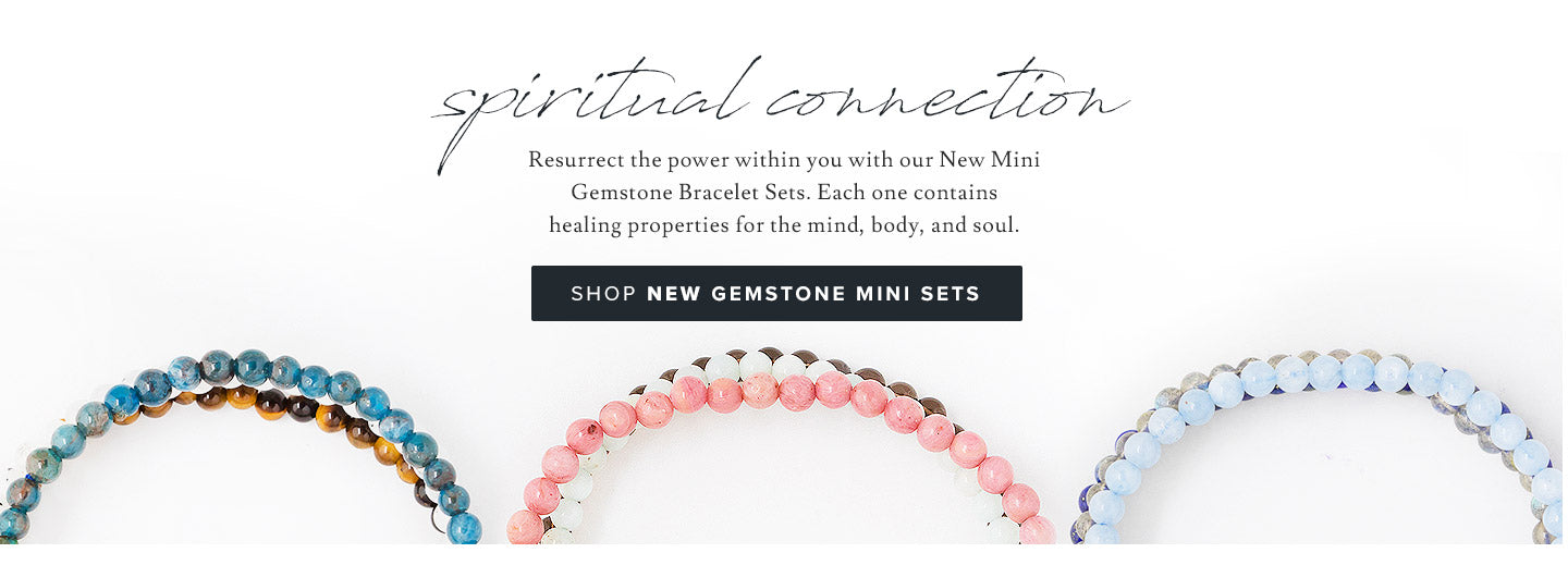 Shop NEW Gemstone Mini Bracelets