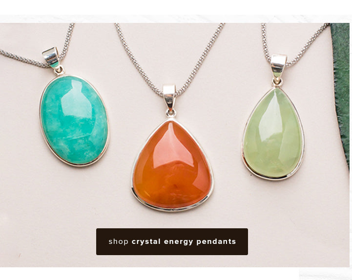shop Crystal Energy Pendants