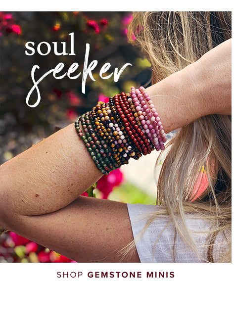 shop Gemstone Mini Bracelets