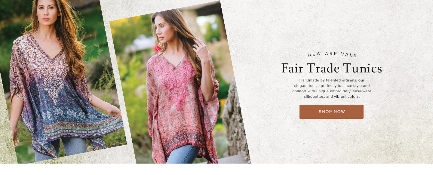 New Fair Trade Tunics