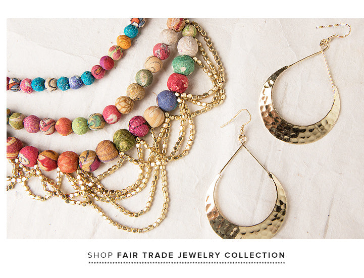shop Fair Trade Jewelry Collection