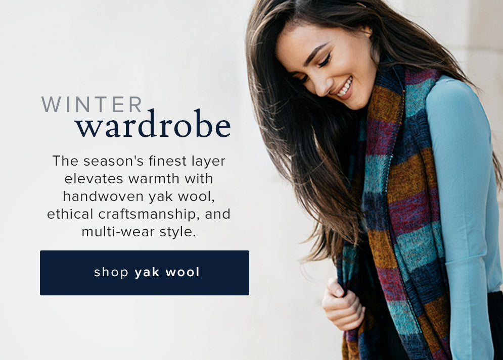 shop Yak Wool Collection