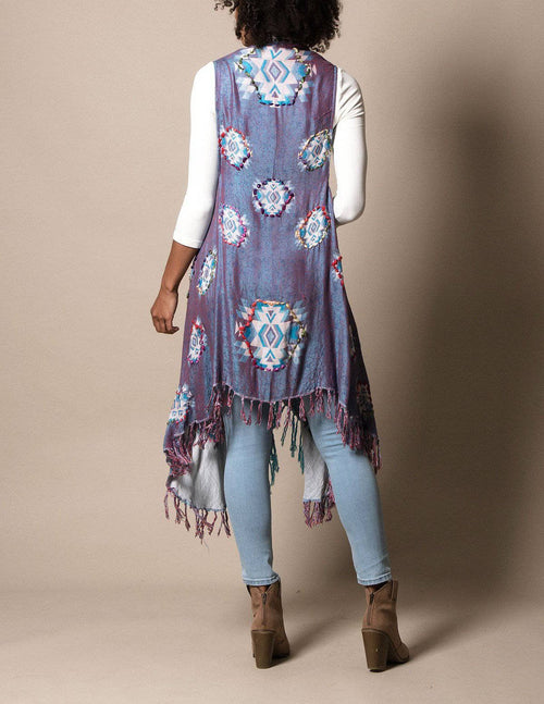 3-in-1 Jaipur Wrap - Lavender Blue