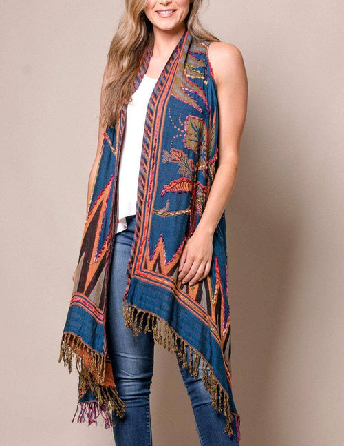 3-in-1 Maya Wrap - Navy