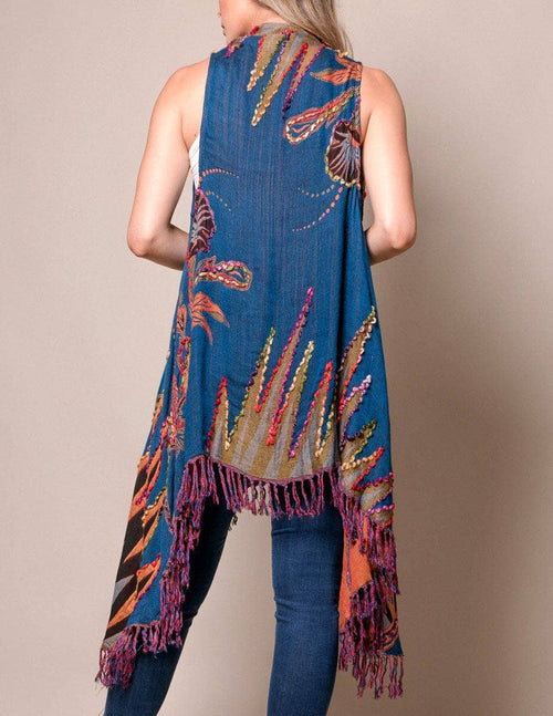 3-in-1 Maya Wrap - Deep Blue