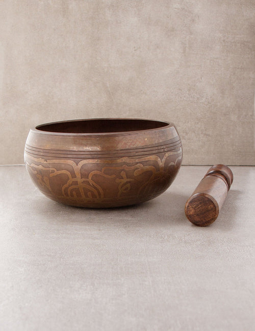 7 Metal Ganesh Singing Bowl