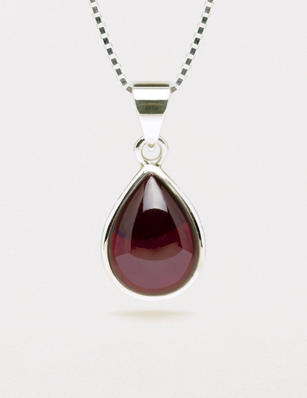 Amethyst Mini Pendant Necklace