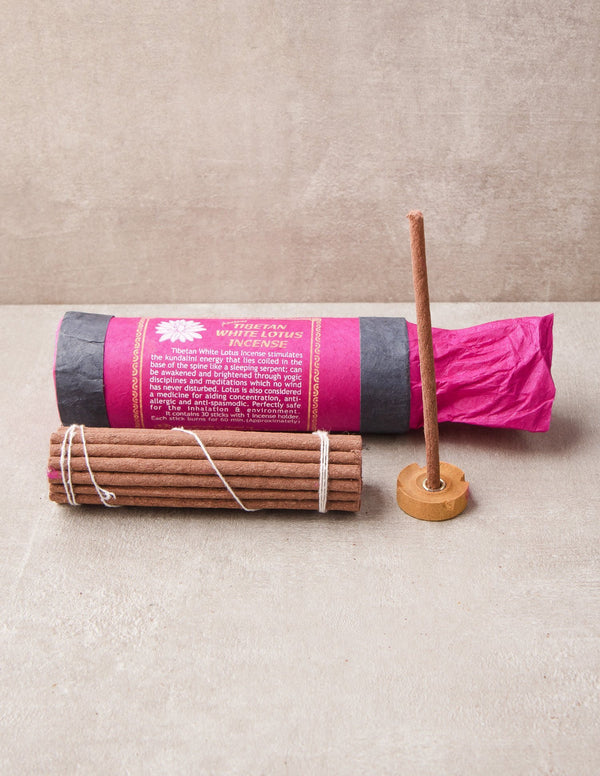 Ancient Himalayan Incense -  White Lotus